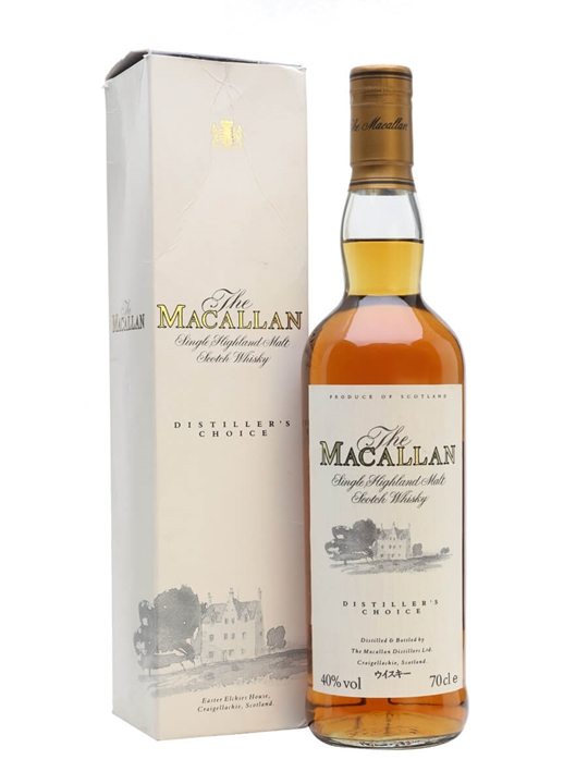 Macallan Distiller's Choice Speyside Single Malt Scotch Whisky