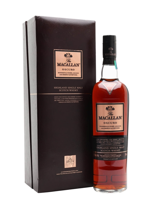 Macallan Oscuro Speyside Single Malt Scotch Whisky