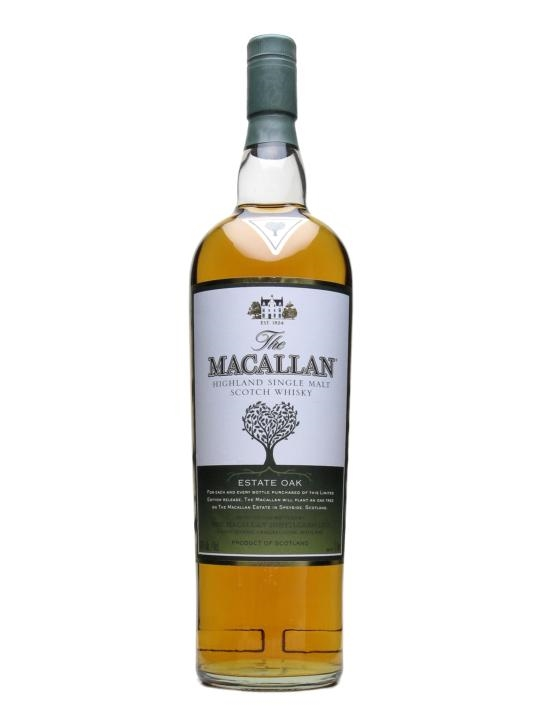 Macallan Estate Oak Speyside Single Malt Scotch Whisky