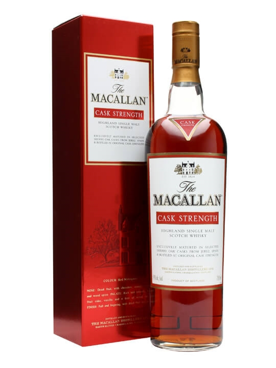 Macallan Cask Strength / Sherry Cask Speyside Whisky