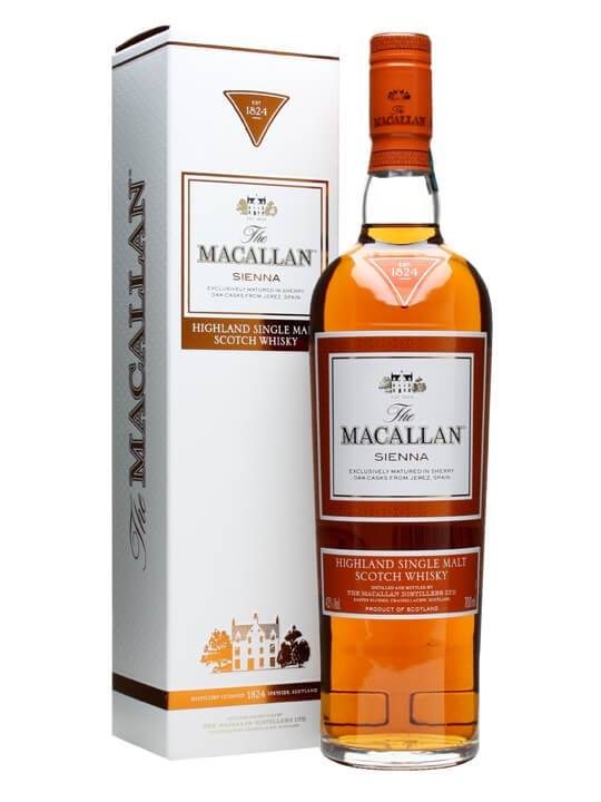 Macallan Sienna / The 1824 Series Speyside Single Malt Scotch Whisky