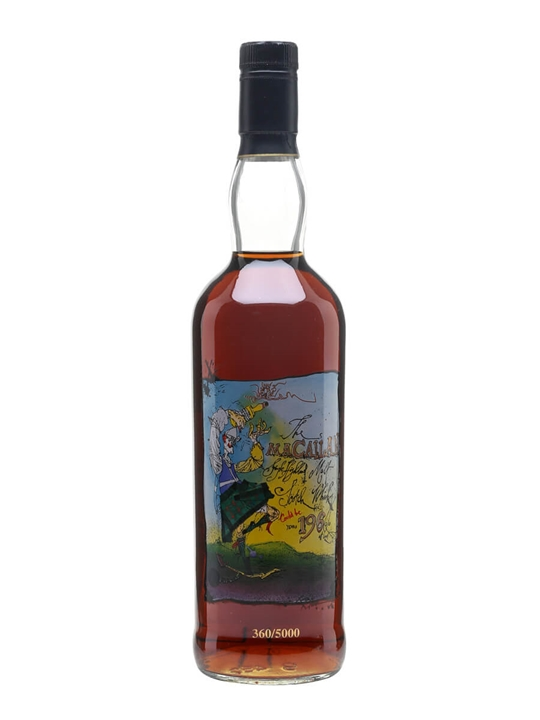 Macallan Private Eye Speyside Single Malt Scotch Whisky