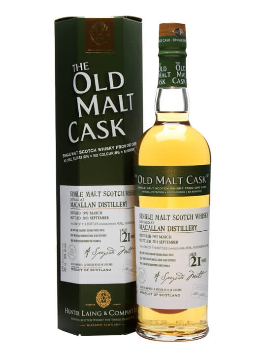 Macallan 1992 / 21 Year Old / Old Malt Cask Speyside Whisky