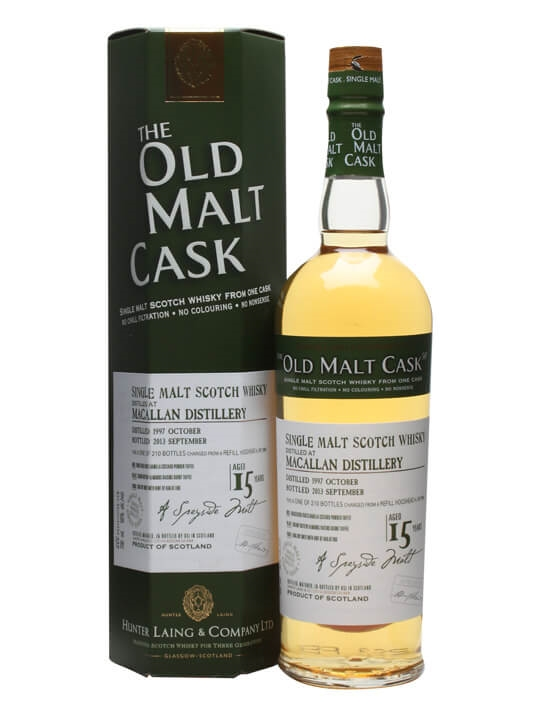 Macallan 1997 / 15 Year Old / Old Malt Cask Speyside Whisky