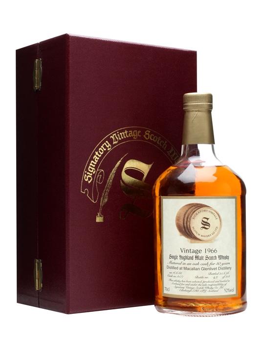 Macallan-glenlivet 1966 / 30 Year Old Speyside Whisky