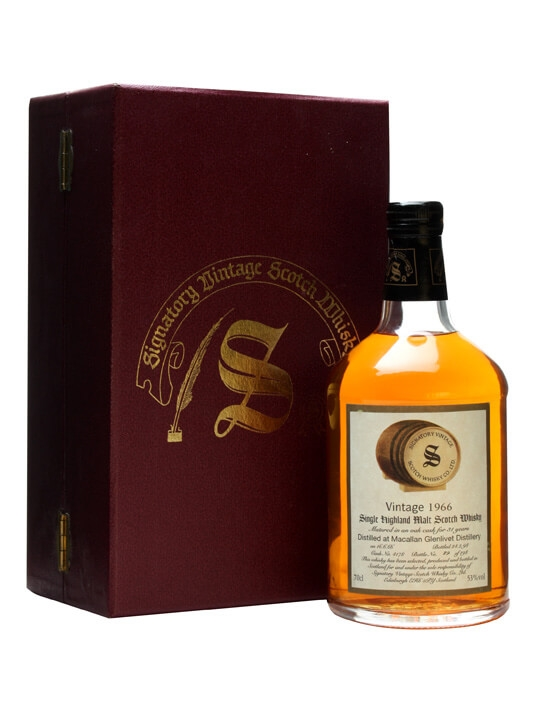 Macallan 1966 / 31 Year Old / Cask #4178 Speyside Whisky