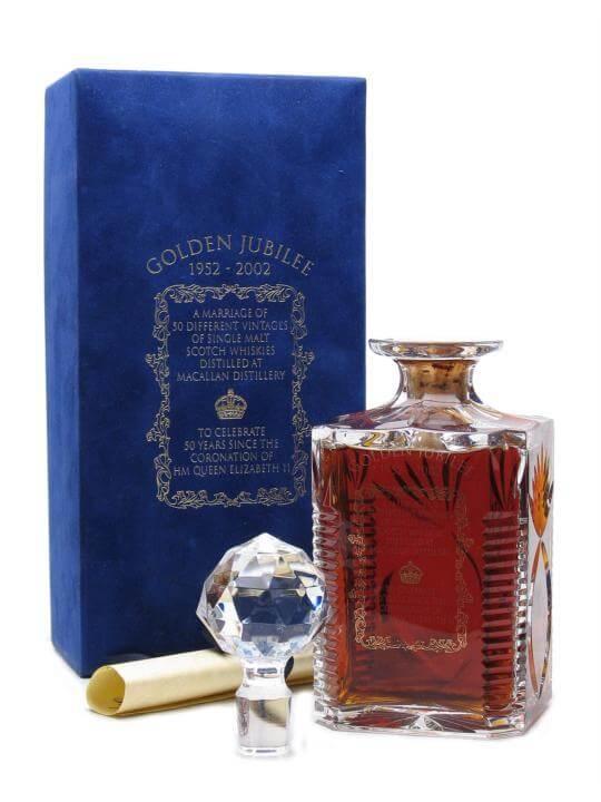 Macallan Golden Jubilee Decanter Speyside Single Malt Scotch Whisky