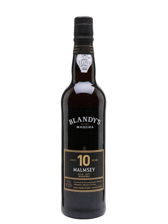 Blandy's Malmsey 10 Year Old Madeira