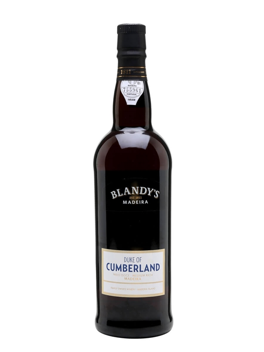 Blandy's Duke of Cumberland Medium Rich Madeira