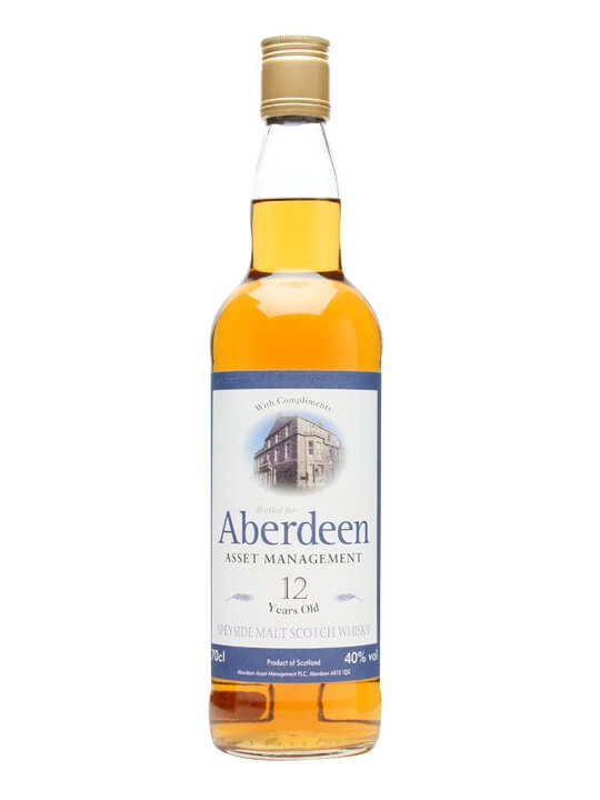 Aberdeen Asset Management 12 Year Old Single Malt Scotch Whisky