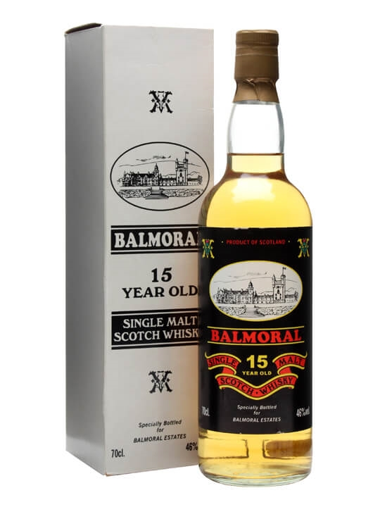 Balmoral 15 Year Old / Black Label Highland Single Malt Scotch Whisky