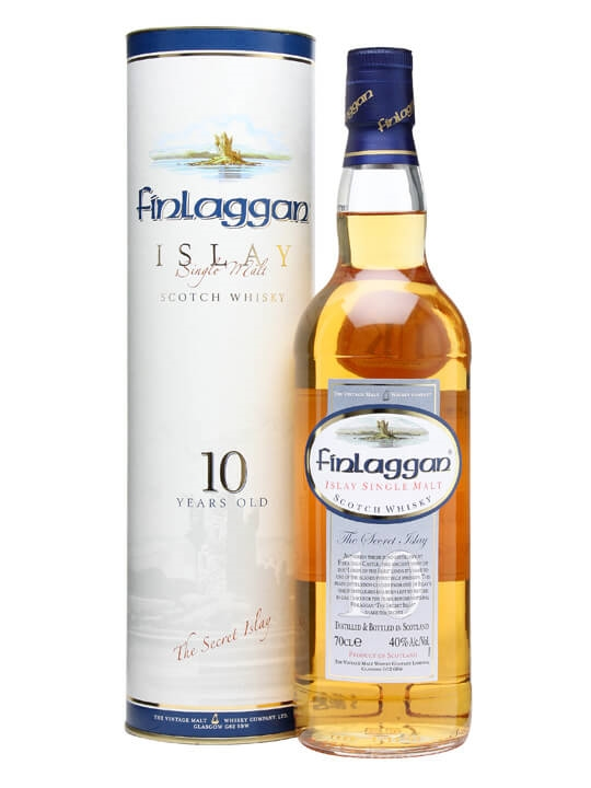 Finlaggan 10 Year Old / Lightly Peated Islay Single Malt Scotch Whisky