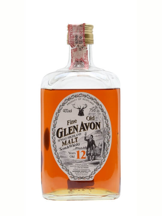 Glen Avon 12 Year Old / Bot. 1980s Speyside Single Malt Scotch Whisky