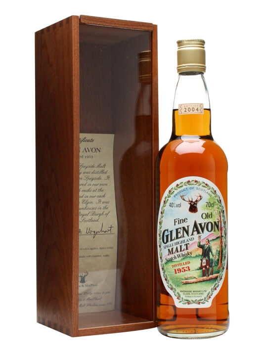 Glen Avon 1953 Speyside Single Malt Scotch Whisky