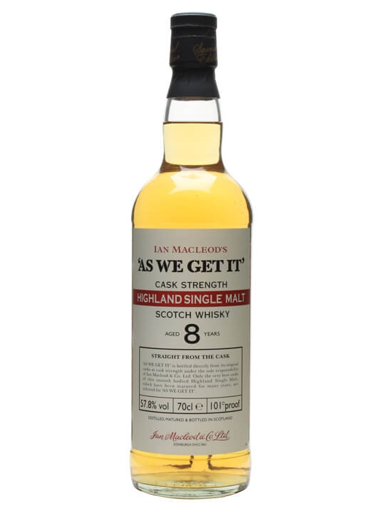 As We Get It 8 Year Old / Ian Macleod's Highland Whisky