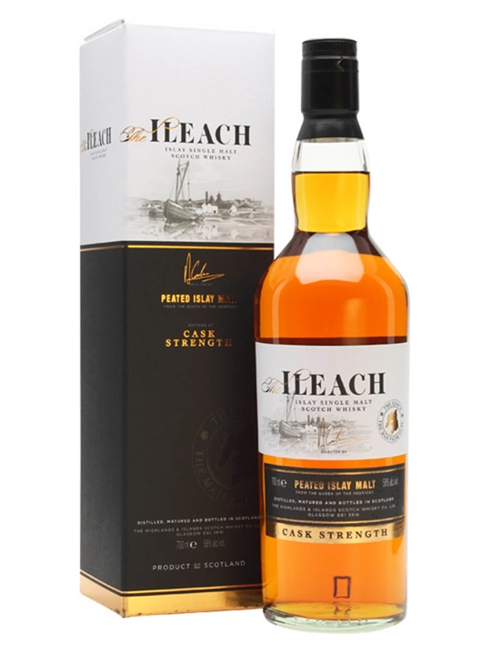 Ileach Cask Strength Islay Single Malt Scotch Whisky