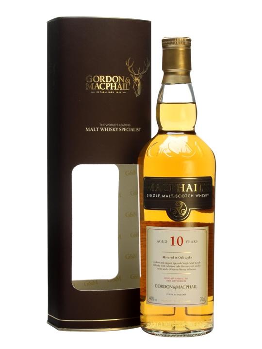 Macphails 10 Year Old Single Malt Scotch Whisky