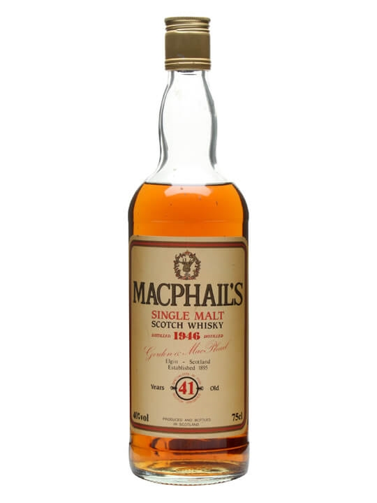Macphail's 1946 / 41 Year Old Single Malt Scotch Whisky