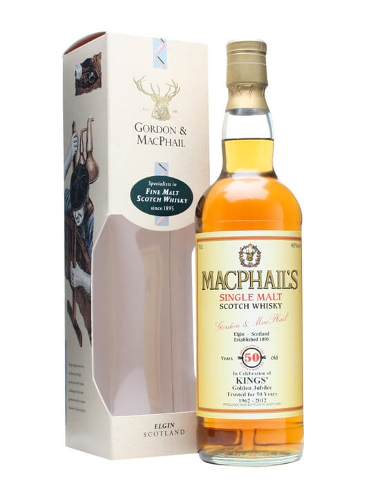 Macphail's 50 Year Old / Kings' Golden Jubilee Single Whisky