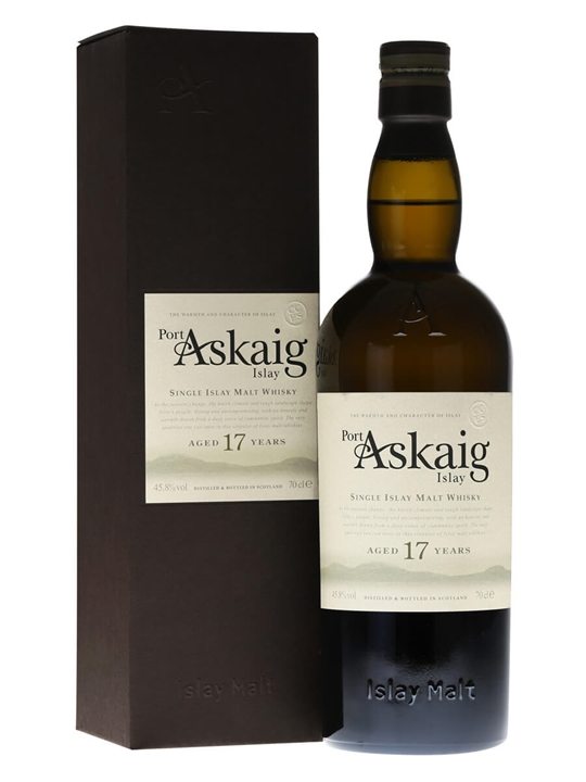 Port Askaig 17 Year Old Islay Single Malt Scotch Whisky