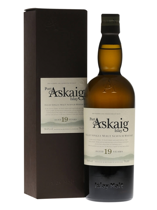 Port Askaig 19 Year Old / 2013 Edition Islay Single Malt Scotch Whisky