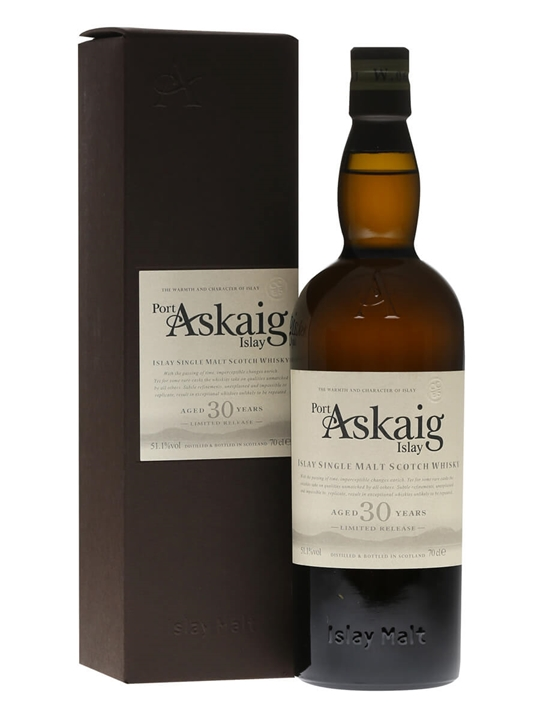 Port Askaig 30 Year Old / Cask Strength Islay Whisky