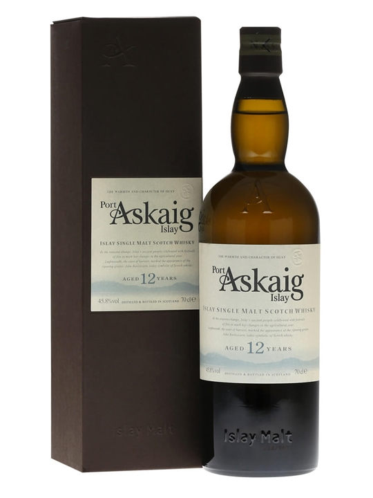 Port Askaig 12 Year Old Islay Single Malt Scotch Whisky