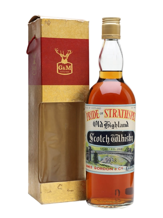 Pride Of Strathspey 1938 / Bot.1970s Speyside Whisky