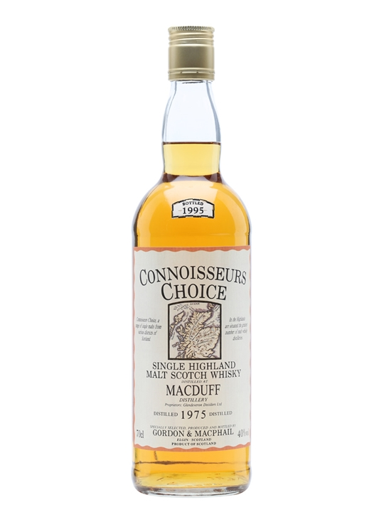 Macduff 1975 / Bot.1995 / Connoisseurs Choice Highland Whisky