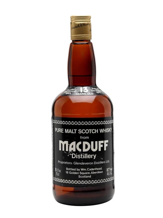 Macduff 1964 / 13 Year Old Highland Single Malt Scotch Whisky