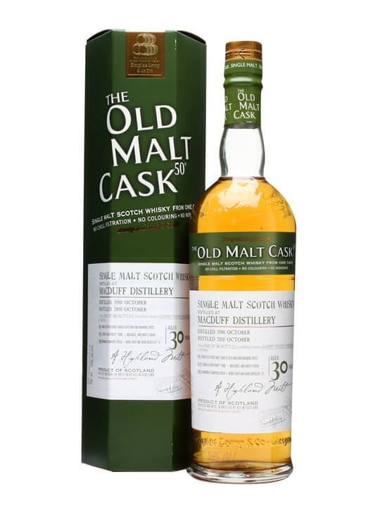 Macduff 1980 / 30 Year Old / Old Malt Cask #6624 Highland Whisky