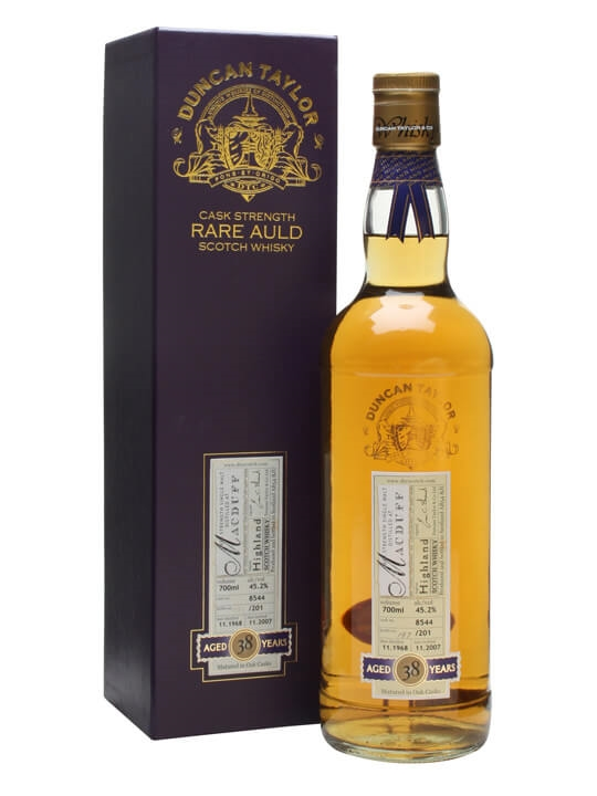 Macduff 1968 / 38 Year Old / Cask #8544 Highland Whisky
