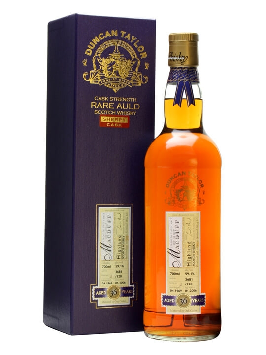 Macduff 1969 / 36 Year Old / Cask #3681 Highland Whisky
