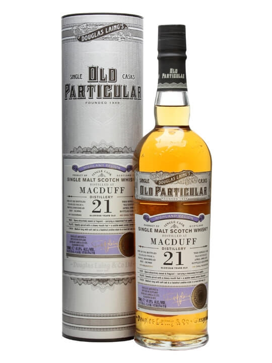 Macduff 1992 / 21 Year Old / Old Particular Highland Whisky