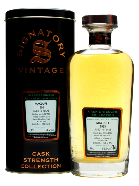 Macduff 1995 / 16 Year Old / Cask #7867 / Signatory Highland Whisky