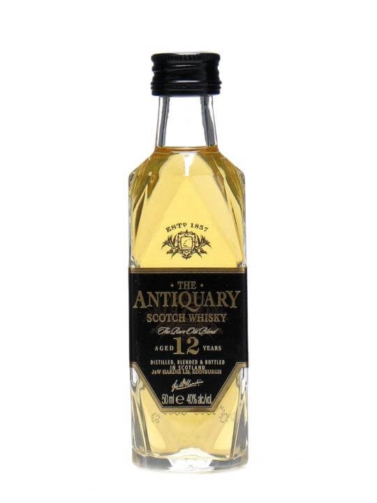 Antiquary 12 Year Old Miniature Blended Scotch Whisky