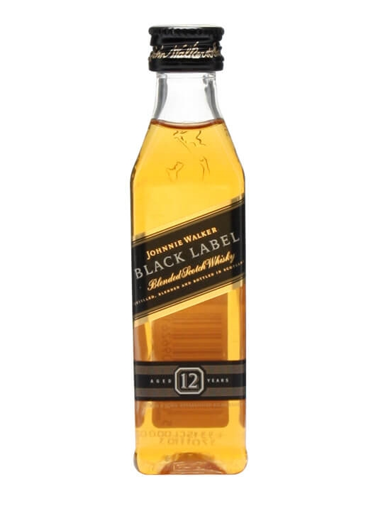 Johnnie Walker Black Label 12 Year Old Miniature Blended Scotch Whisky