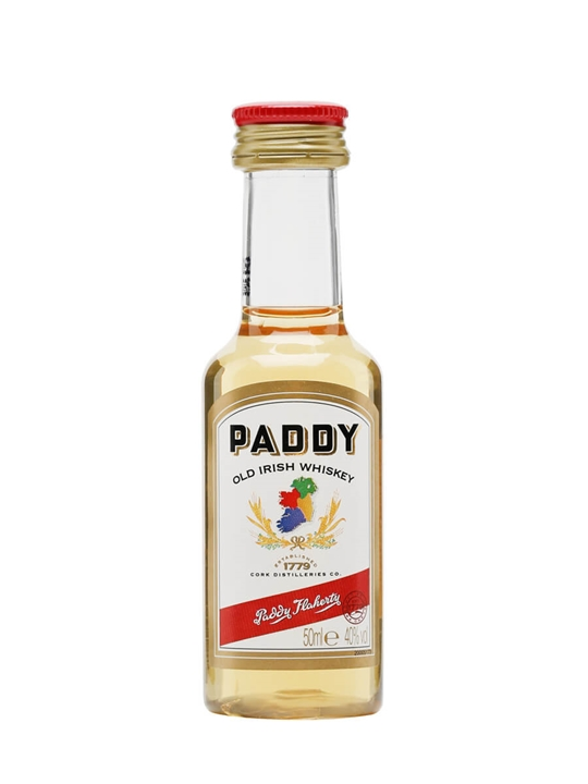Paddy Miniature Blended Irish Whiskey
