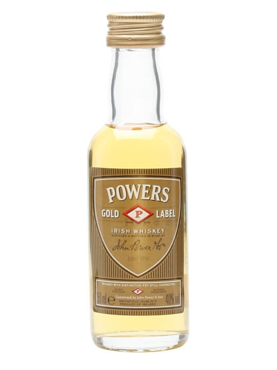 Powers Miniature Blended Irish Whiskey