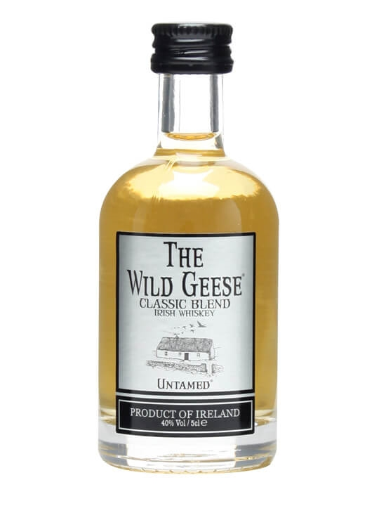 Wild Geese Irish Whiskey Classic Blend Miniature Blended Irish Whiskey