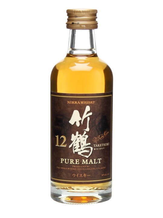 Nikka Taketsuru 12 Year Old Miniature Japanese Blended Whisky