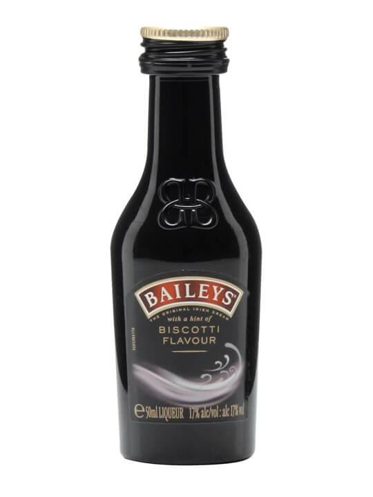 Baileys Biscotti Flavour Liqueur Miniature