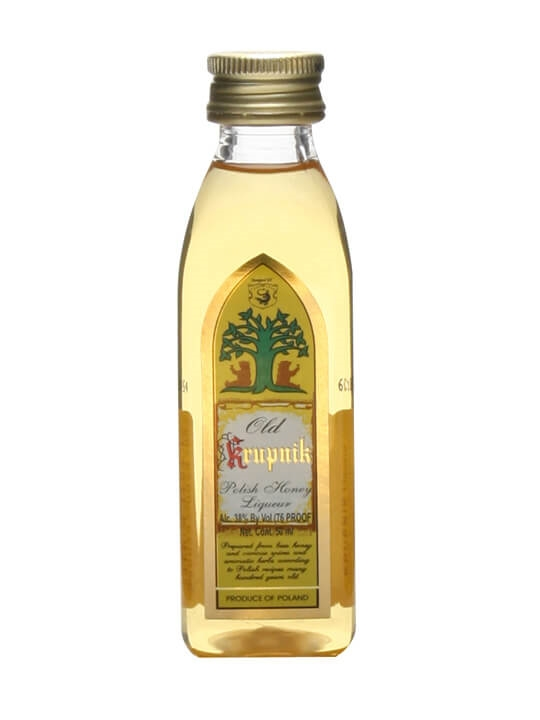 Old Krupnik Polish Honey Liqueur Miniature