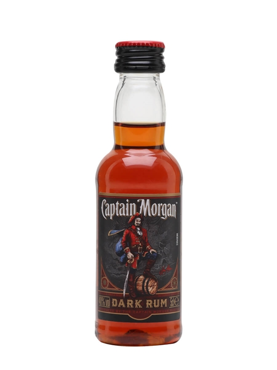 Captain Morgan Rum Miniature
