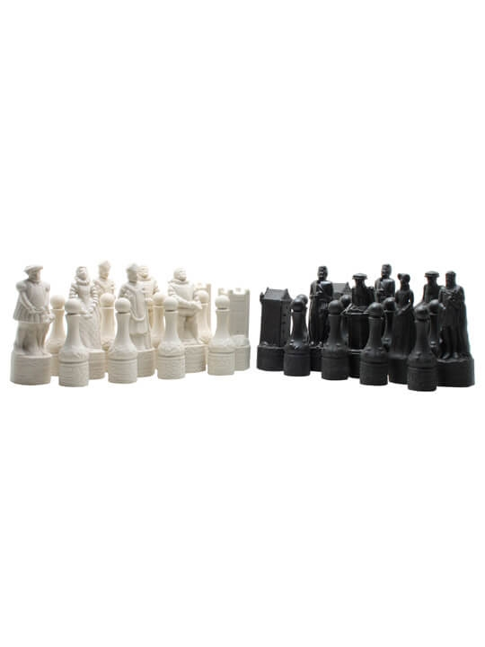 Beneagles Ceramic Chess Set