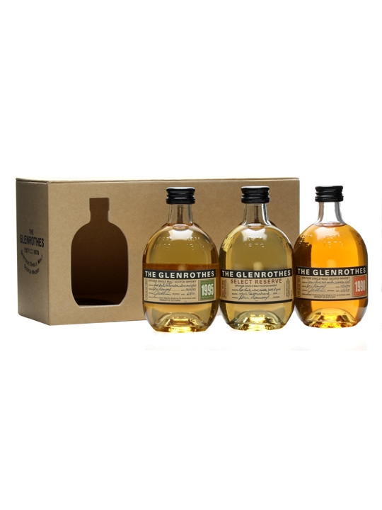 Glenrothes 3x10cl Pack: 1988, 1998, Select Reserve Speyside Whisky