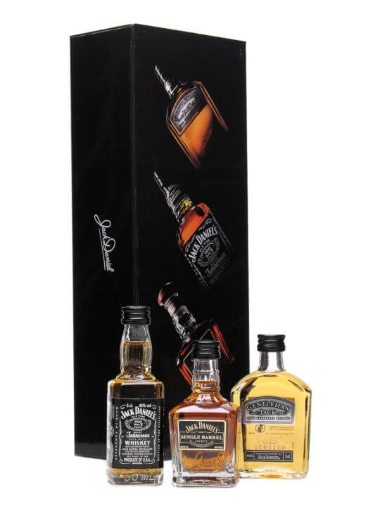 Jack Daniel's 'Family Pack' Miniatures (3x5cl) Tennessee Whiskey