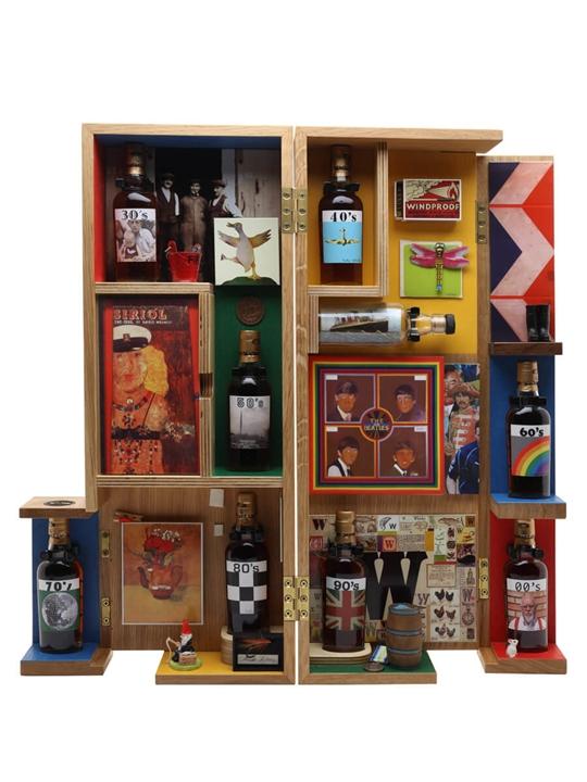 Macallan 8 Decades / Sir Peter Blake Speyside Whisky