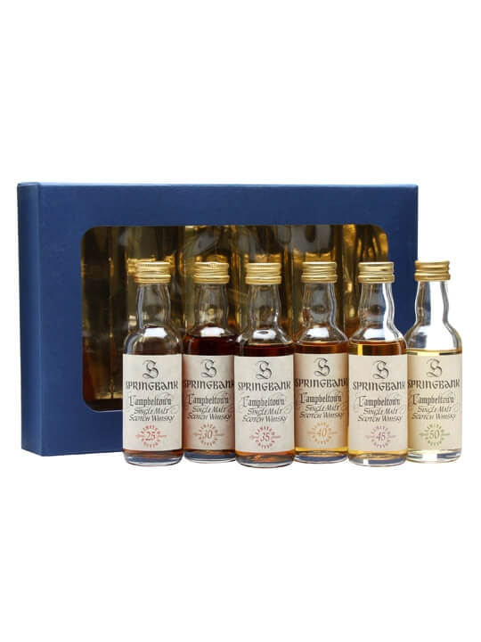 Springbank Millennium Miniature Set / 25yo - 50yo Campbeltown Whisky