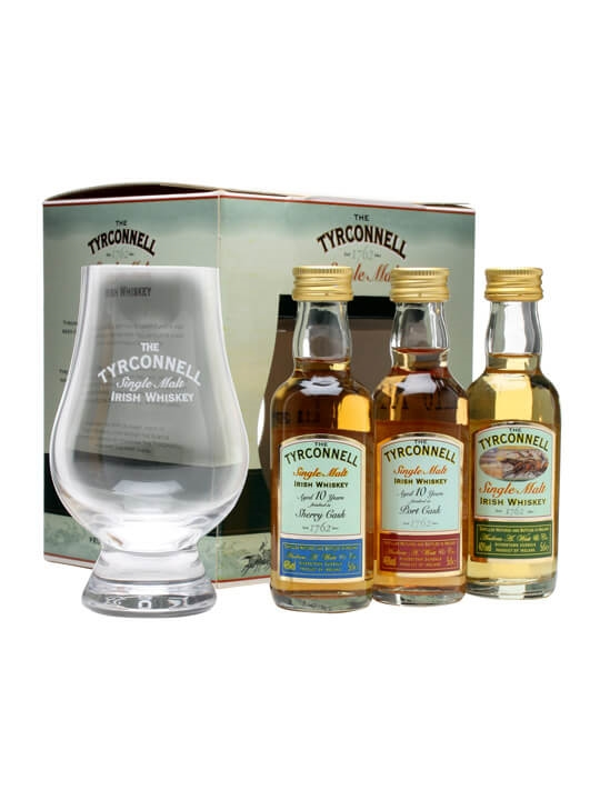 Tyrconnell Miniature Collection / 3x5cl Single Malt Irish Whiskey